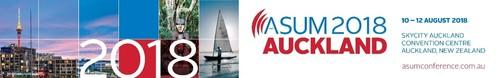 ASUM2018 Auckland